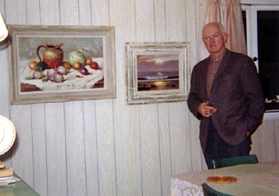 Photo of Red Cary at his home